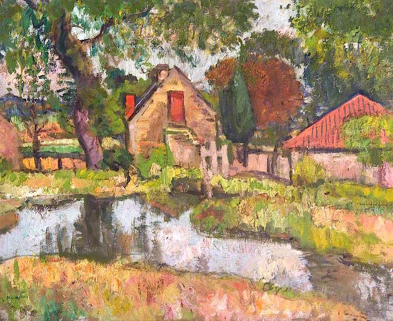 George Leslie HUnter. Old Mill