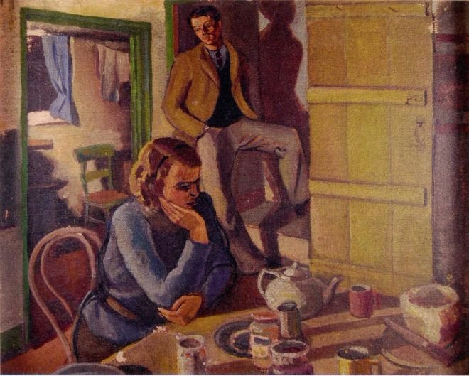 Binyon and REvilious by Peggy Angus